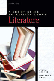 A Short Guide to Writing About Literature by Sylvan Barnet image