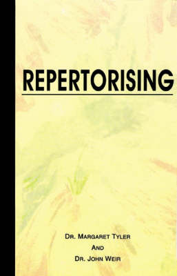Repertorising by J Stephenson image