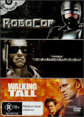 Robocop / Terminator / Walking Tall (3 Disc Set) on DVD