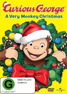 Curious George: A Very Monkey Christmas on DVD