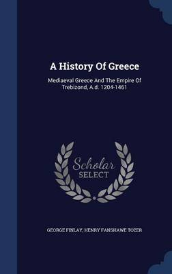 A History of Greece by George Finlay image