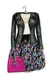 Lady Jane: Diva Dress Die-Cut Notepad - Leather