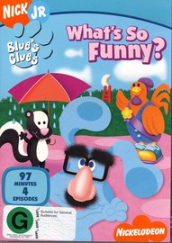 Blue's Clues - What's So Funny? on DVD image