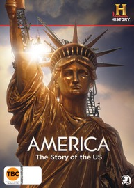America: The Story of The US (3 Disc Set) on DVD