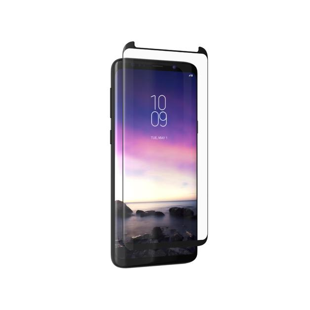 InvisibleShield Glass Curve Elite-Samsung S9 2018 -Case Friendly -Screen