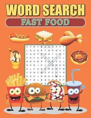 Word Search Fast Food by Greater Heights Publishing