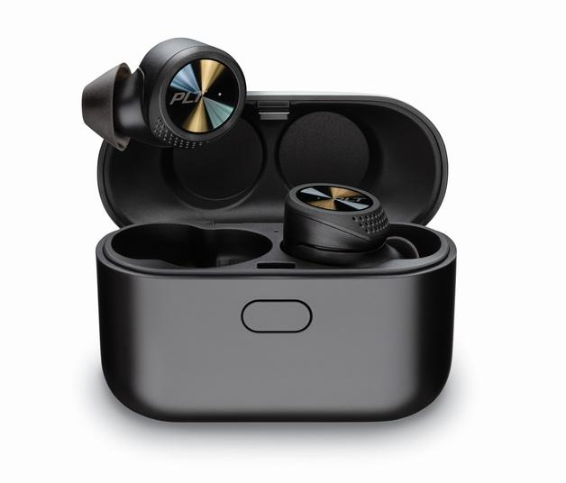 Plantronics: BackBeat Pro 5100 True Wireless Earbuds - Black