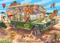 Wasgij: 1000 Piece Puzzle - Originals #31 (Safari Surprise)
