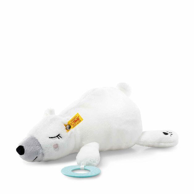 Steiff: Soft Cuddly Friends - Iggy Polar Bear With Grip Toy