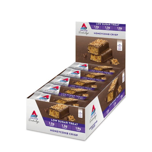 Atkins Endulge Honeycomb Crisp Bar 30g (Box of 15)