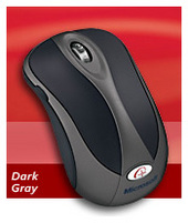 Microsoft Wireless Notebook Opt Mouse 4000 Mac/Win USB Dark Grey