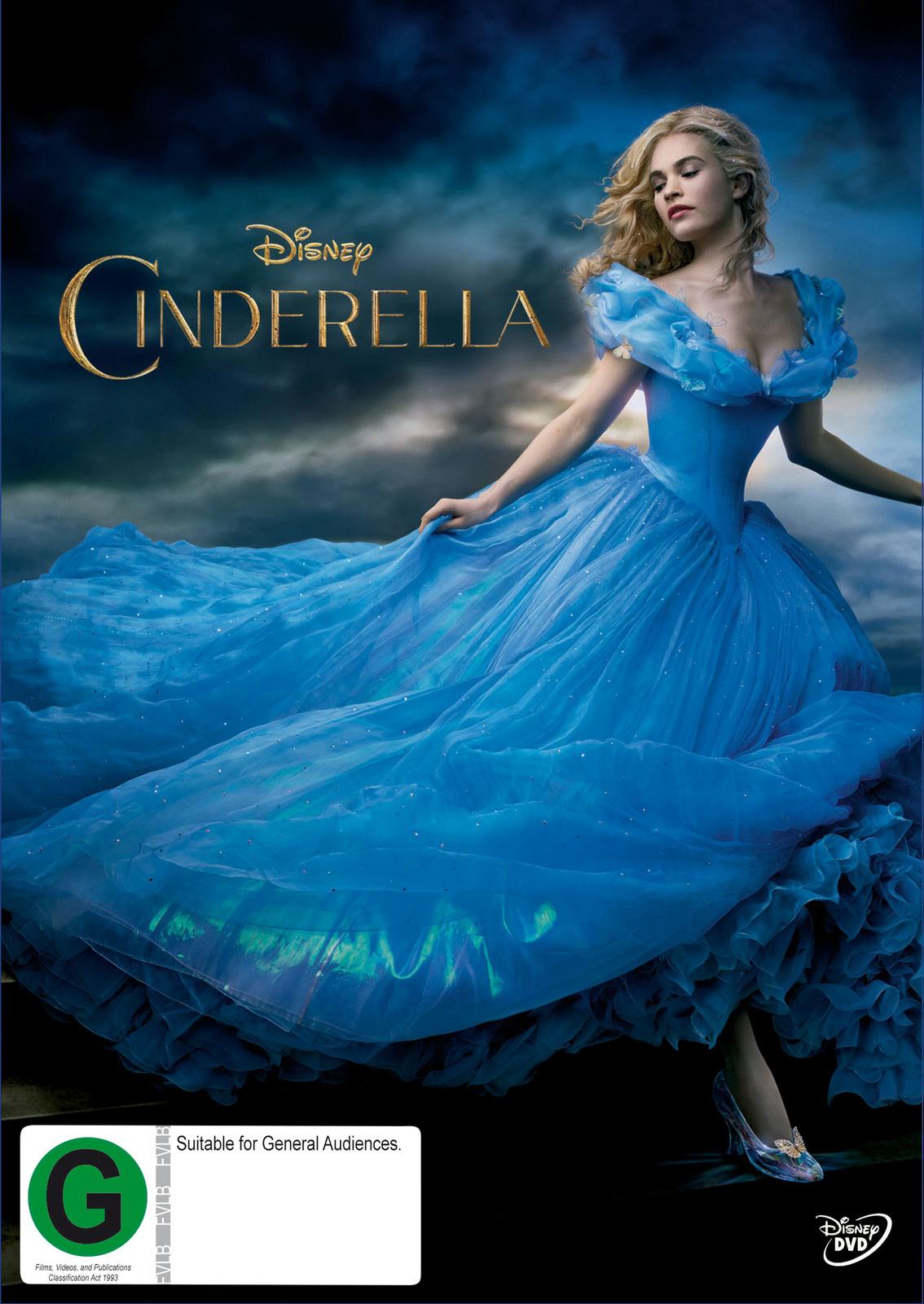 Cinderella (2015) on DVD image