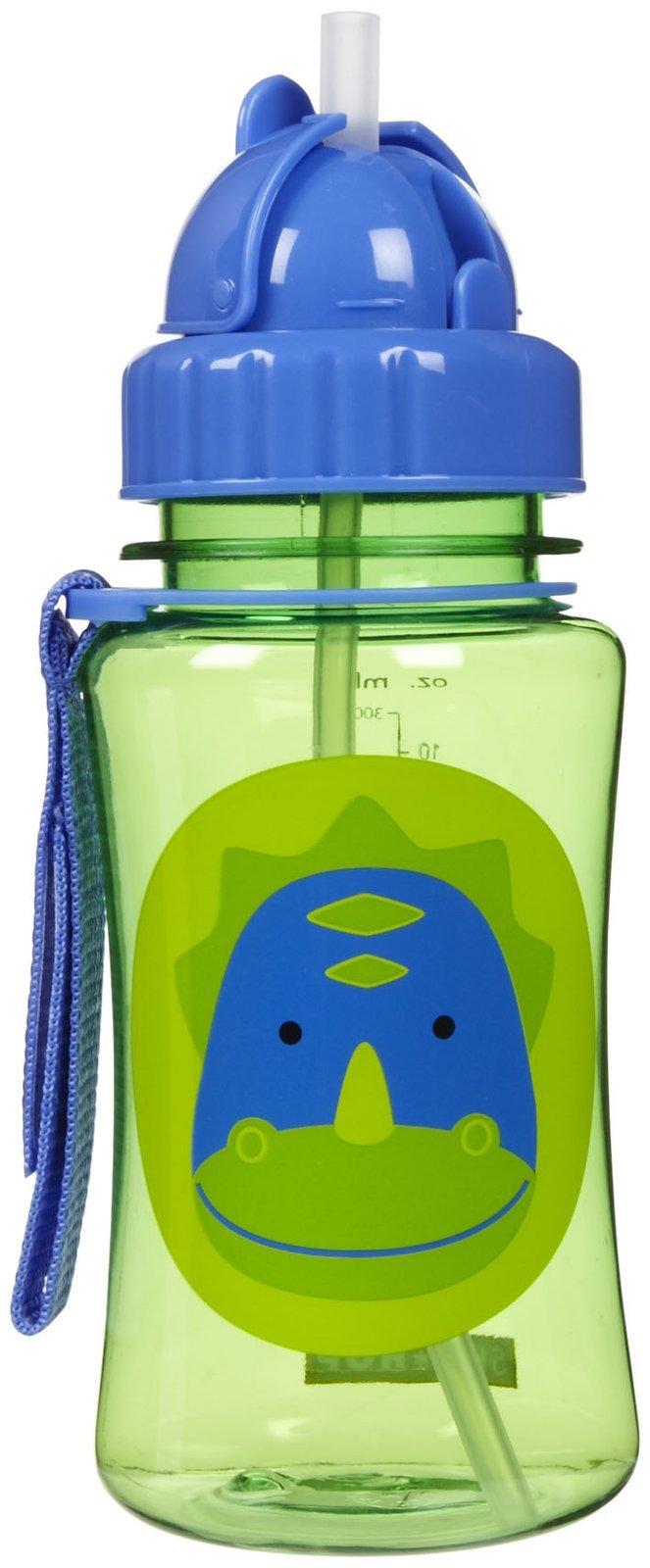 Skip Hop: Zoo Straw Bottle - Dino image
