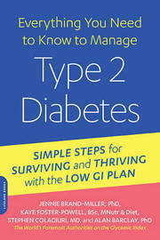 Everything You Need to Know to Manage Type 2 Diabetes by Jennie Brand-Miller