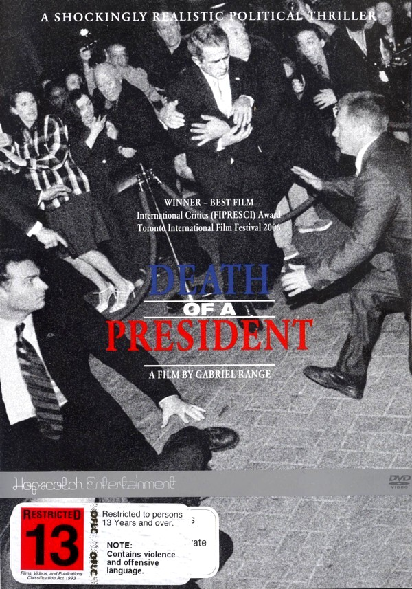 Death of a President on DVD image