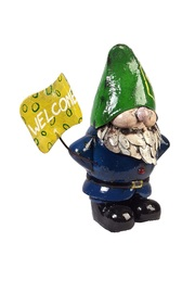 Louie the Gnome - Welcome sign