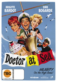 Doctor at Sea DVD image
