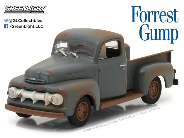 1/43: 1951 Ford F-1 Truck - Diecast Model