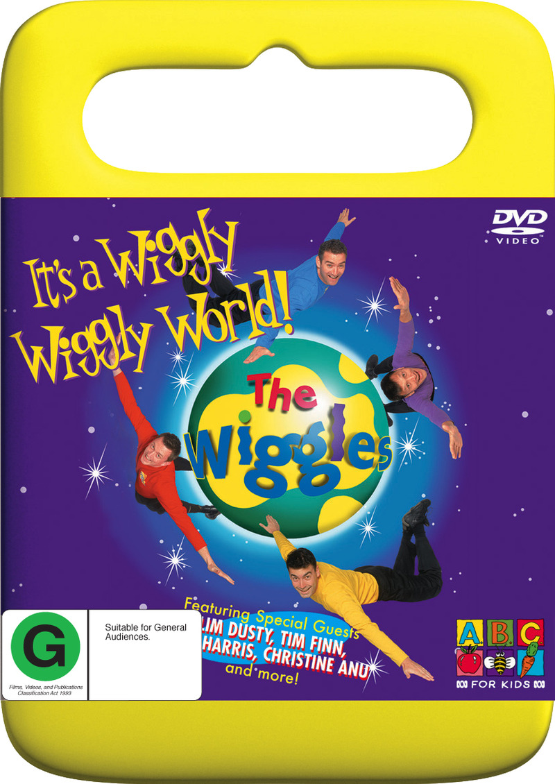 The Wiggles - It's A Wiggly Wiggly World! on DVD image