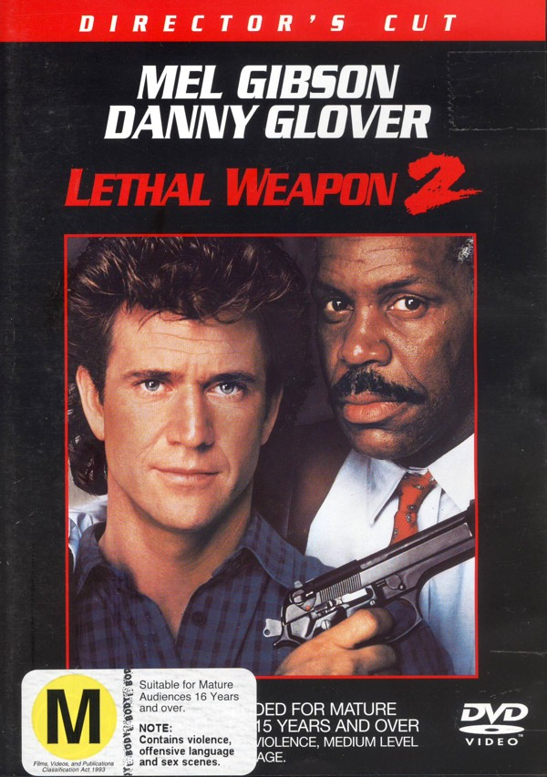 Lethal Weapon 2:  Director's Cut on DVD image