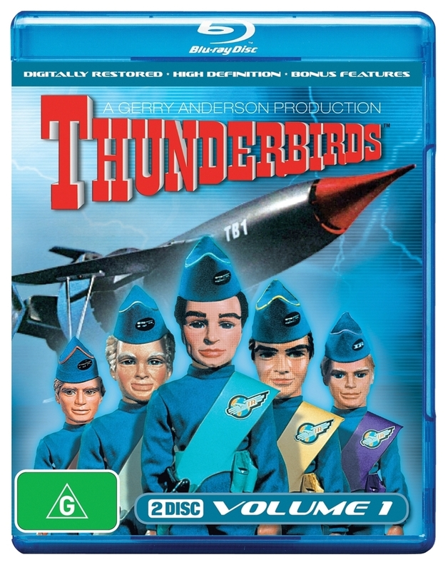 Thunderbirds (1965) - Volume 1 on Blu-ray
