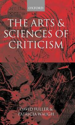 The Arts and Sciences of Criticism image