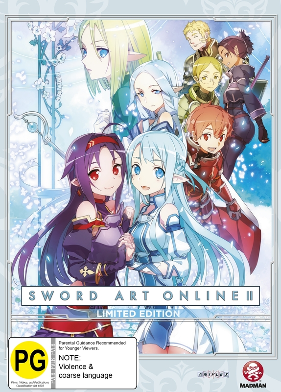 Sword Art Online 2 - Part 4 Limited Edition on DVD