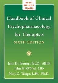 Handbook Of Clinical Psychopharmacology for Therapists, 6th Edition by John D Preston image