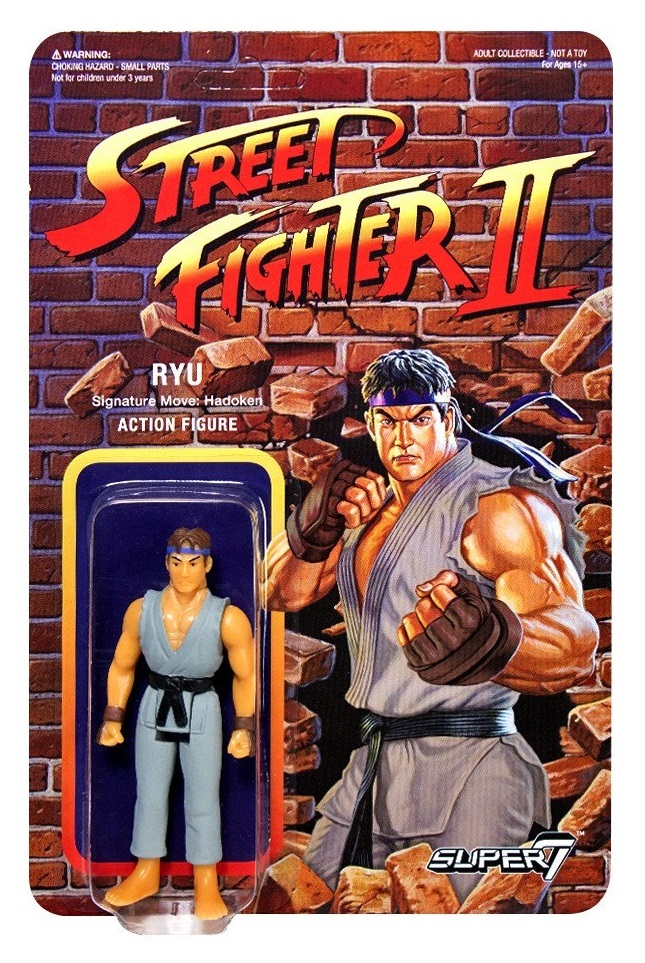 "Street Fighter II: Ryu - 3.75"" CE Retro Action Figure image"