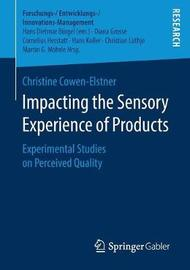 Impacting the Sensory Experience of Products by Christine Cowen-Elstner