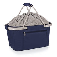Metro Insulated Shopping Basket - Navy