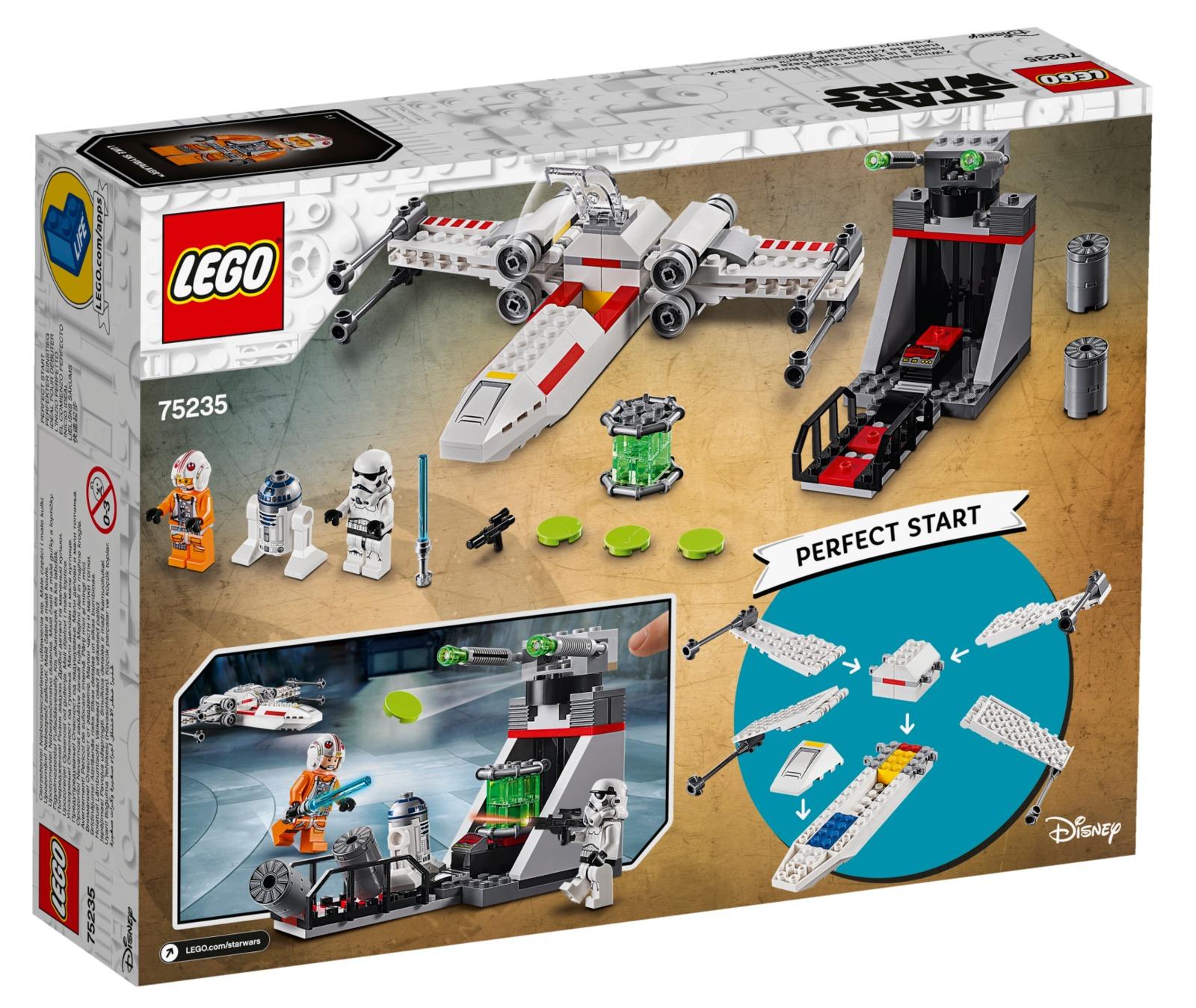 LEGO Star Wars: X-Wing Starfighter Trench Run (75235) image