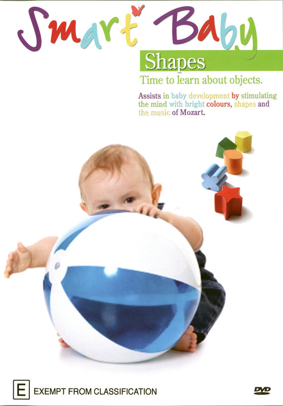 Smart Baby - Shapes on DVD
