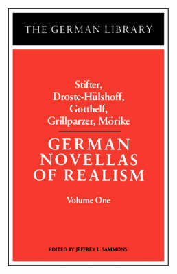 German Novellas of Realism: v. 1 by Stifter