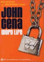 WWE - John Cena: Word Life on DVD