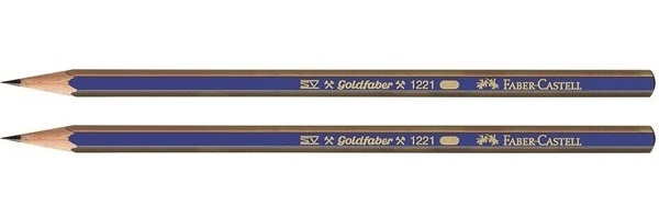Faber-Castell: Goldfaber Graphite Pencil H - 2 Pack