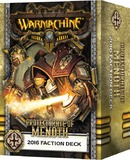 Warmachine: Protectorate of Menoth Faction Deck 2016