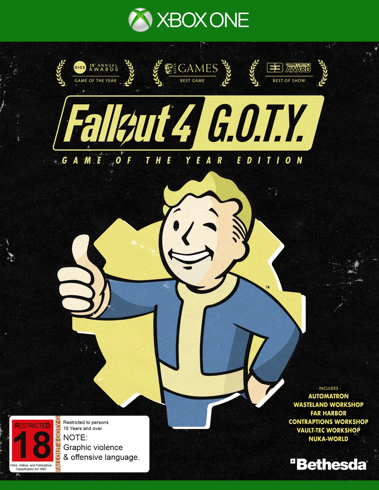 Fallout 4 Game of the Year Edition for Xbox One image