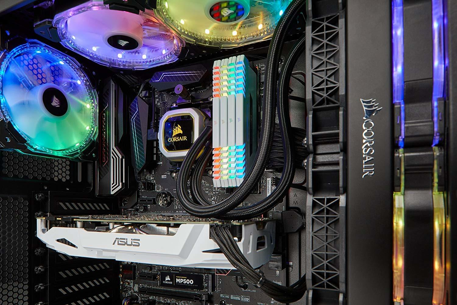 Corsair Hydro Series H100i Pro At Mighty Ape Australia V2 Water Cooler Image