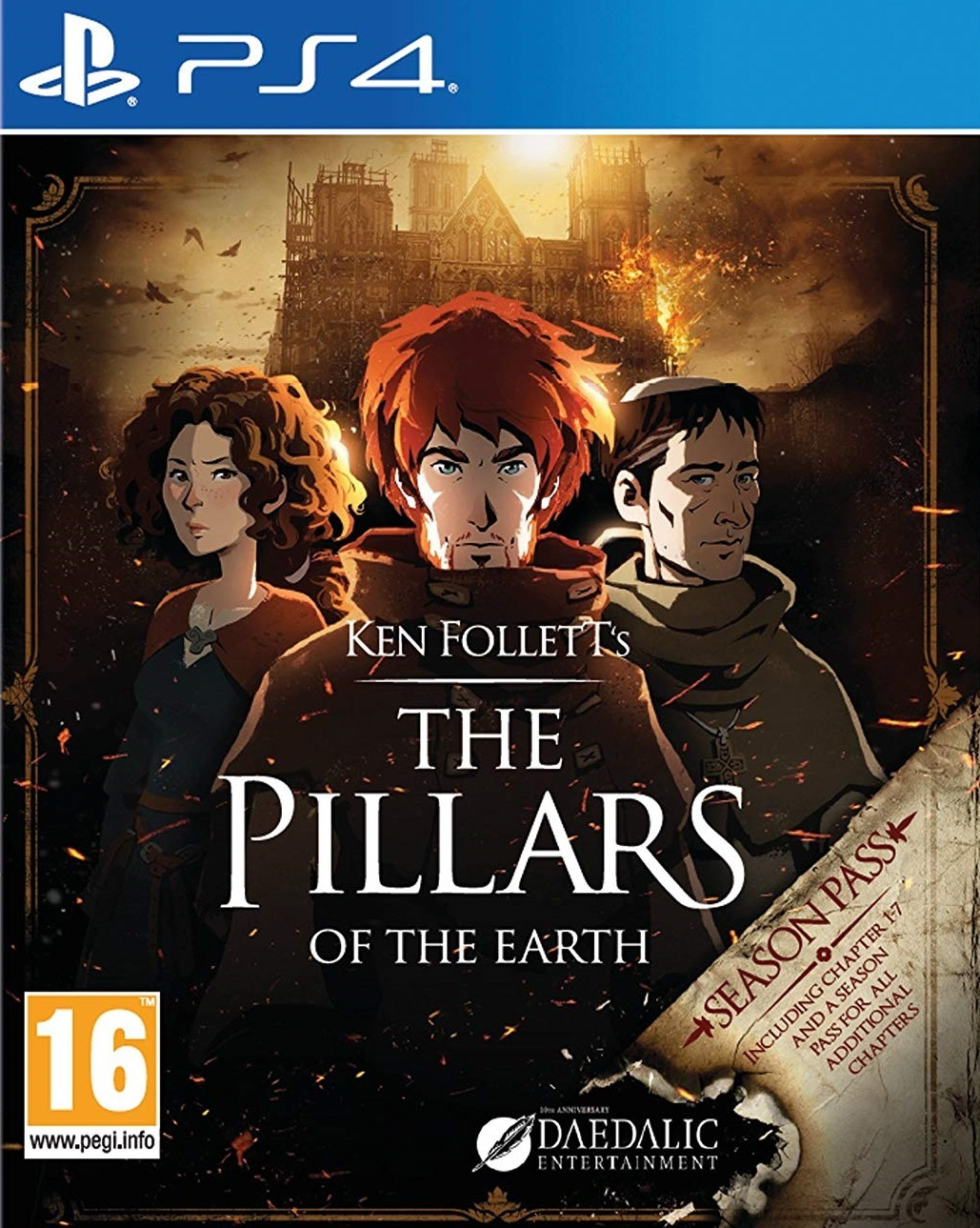 The Pillars of the Earth for PS4 image