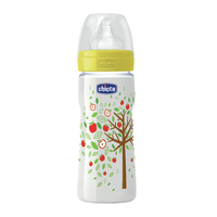 Chicco: Well-Being Silicone Bottle - 4m+ 330ml (Unisex) image