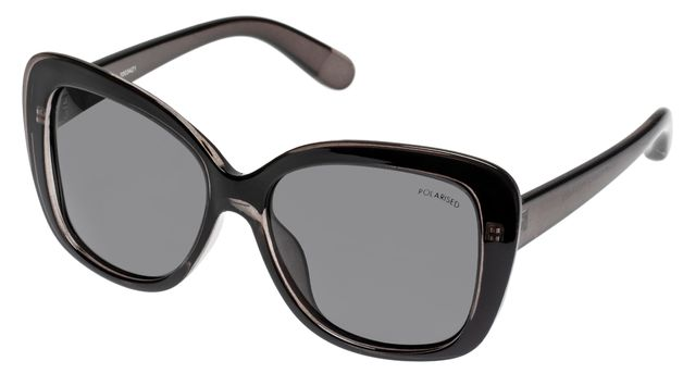 The Cancer Council Sunglasses: Valery - Black + Smoke Lens