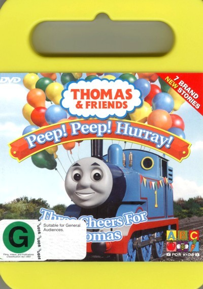 Thomas & Friends - Three Cheers For Thomas on DVD