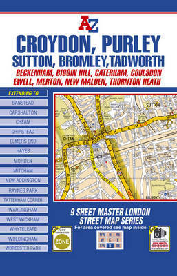 Master Map of South London