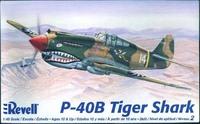 Revell U.S. Curtiss P-40B Tiger Shark Aircraft 1/48 Model Kit