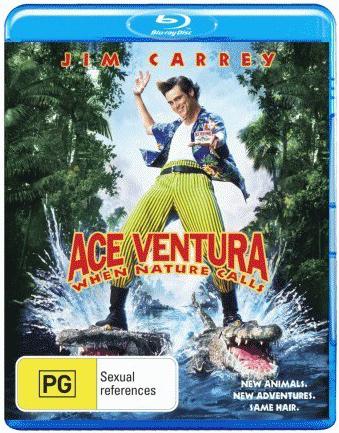 Ace Ventura: When Nature Calls on Blu-ray image
