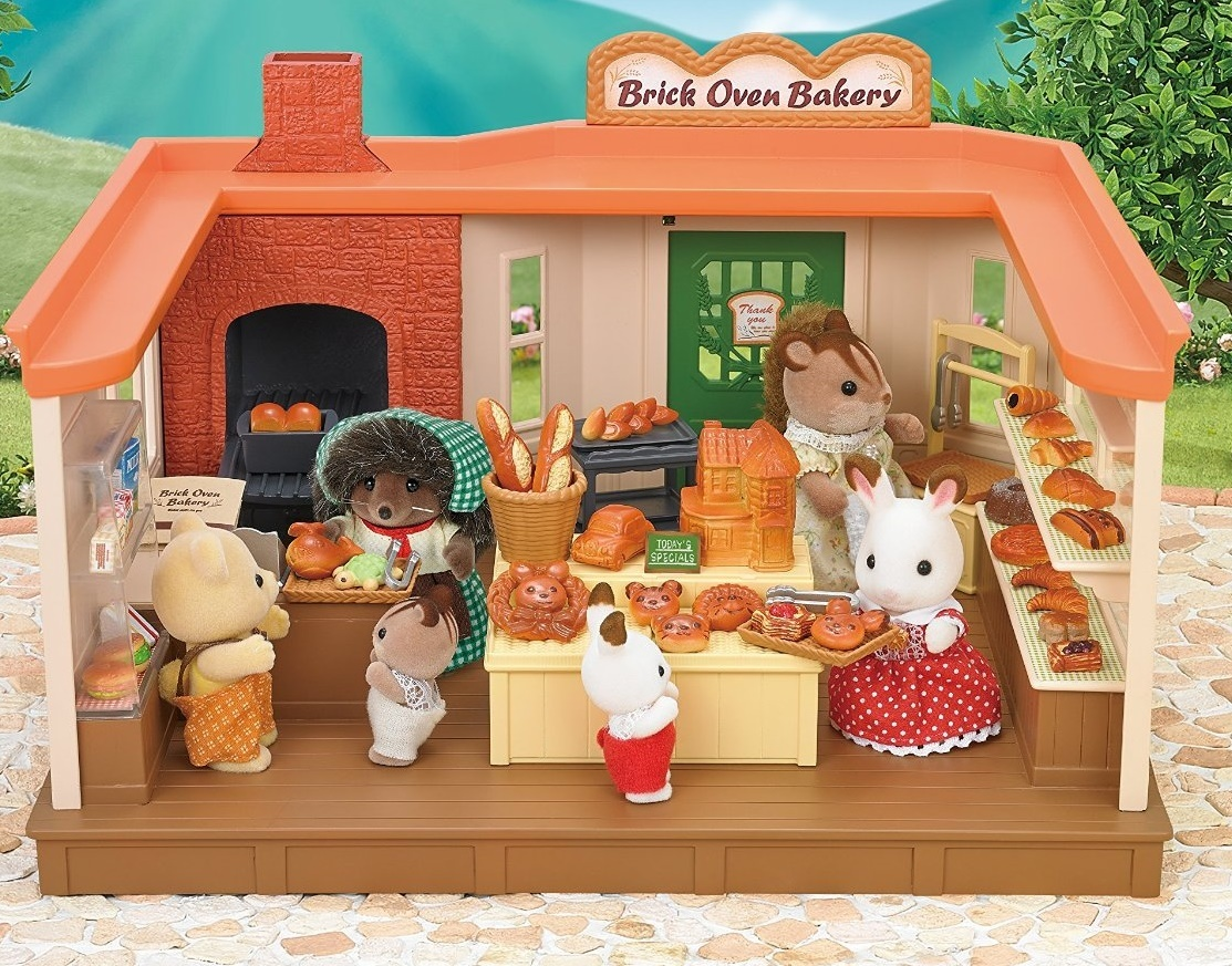 Sylvanian Families Brick Oven Bakery Toy At Mighty Ape Nz
