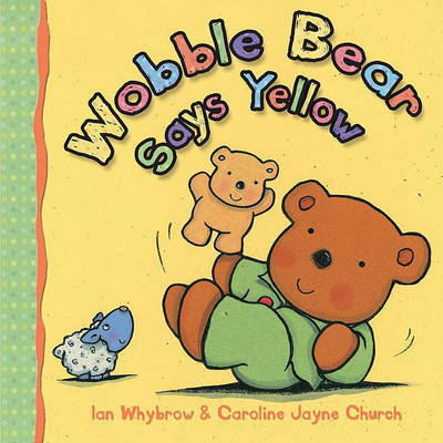 Wobble Bear Says Yellow image