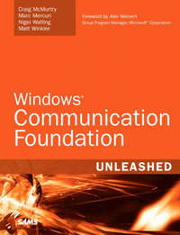 Windows Communication Foundation Unleashed (WCF) by Craig McMurty image