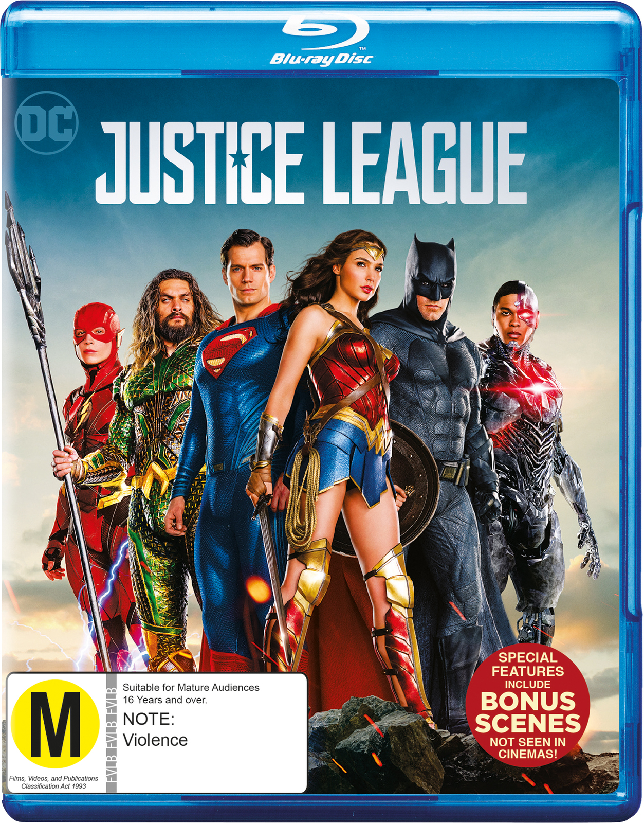 Justice League on Blu-ray image